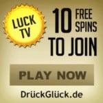 Druck Gluck 10 free spins   175 gratis spins   250% bonus
