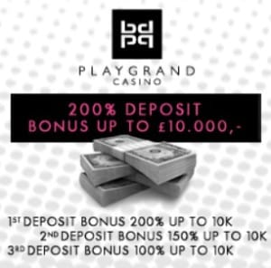 PlayGrand Casino free spins