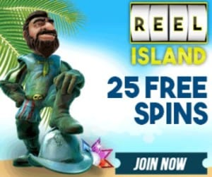 Reel Island Casino free spins