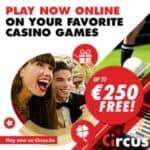 Circus Casino €5 no deposit required and €250 free casino bonus