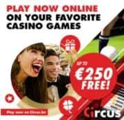 Circus Casino free spins