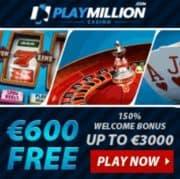 Play Million Casino free bonus