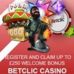 Betclic Casino | 100% up to €250 bonus and free spins | review
