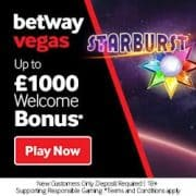 Betway Vegas Casino free spins