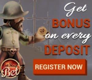 10 free spins + €600 gratis + 225% bonus