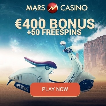 Mars Casino 50 Free Spins And 400 3 Bitcoins Free Bonus