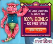 Fantasino Casino bonus