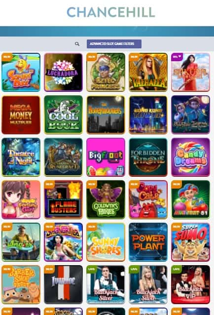 Chance Hill Casino Free Bonus