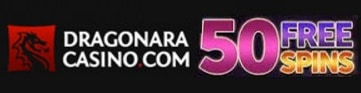Dragonara Online 50 free spins and 150% up to €400 bonus