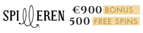 Spilleren Casino 500 free spins and 300% up to €900 free bonus
