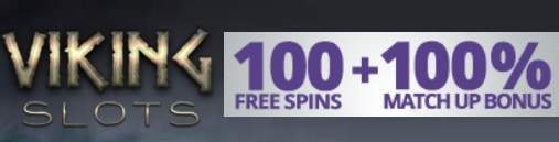 Viking Slots Casino 100 free spins and 100% up to €200 welcome bonus