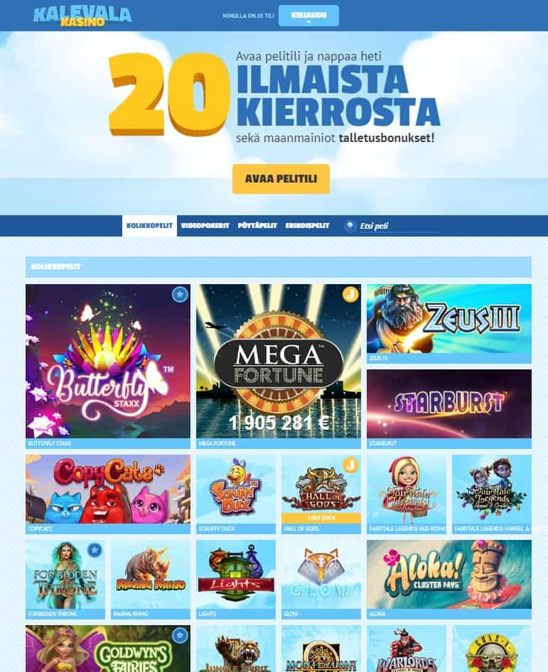 Kalevala Casino Review