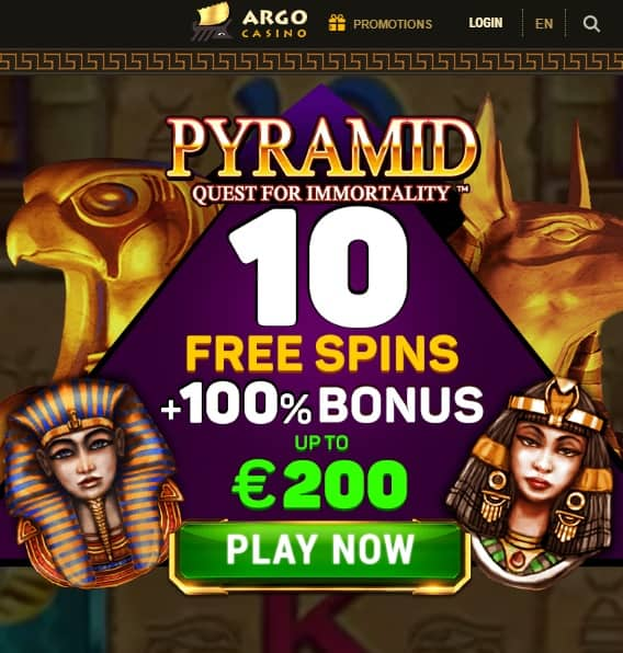 Get 10 free spins now!