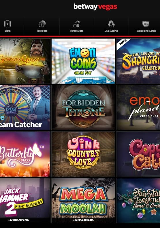 Betway.com Free Spins