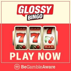 Glossy Bingo | 50 free spins on Pollen Party   300% bonus up to £100