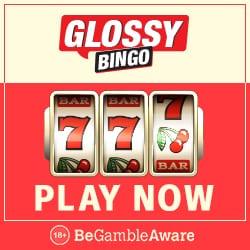 Glossy Bingo   50 free spins on Pollen Party + 300% bonus up to £100