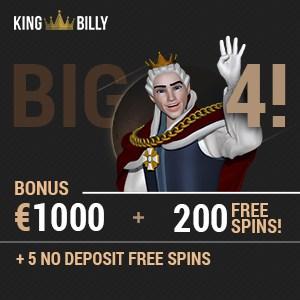 king billy casino no deposit bonus code