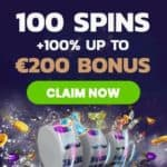 Mr Play Casino 100 free spins + 100% match bonus up to €200