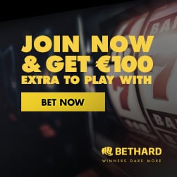 Get 100 free spins and 10 EUR free bet!