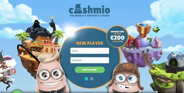 Sign up now and get 20 free spins exclusive welcome bonus with no deposit required