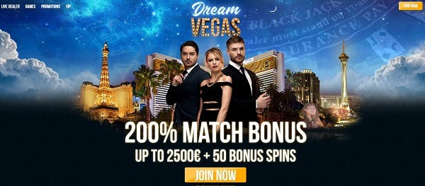 Dream Vegas free spins