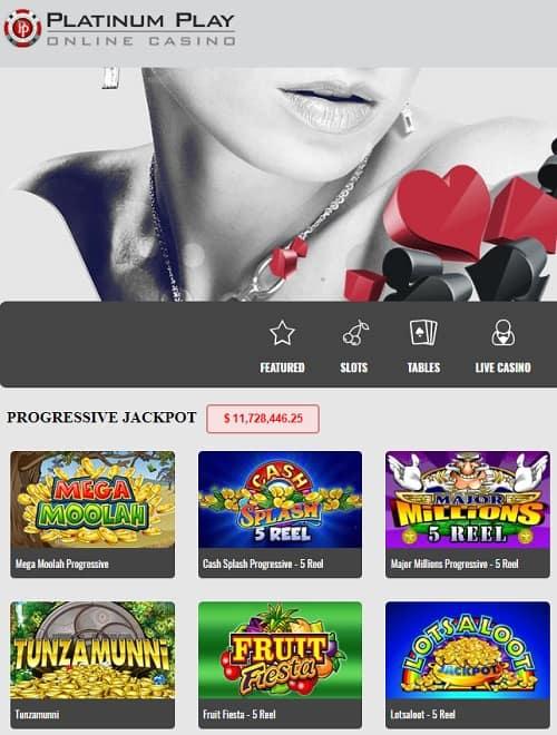 Platinum Play Casino Online