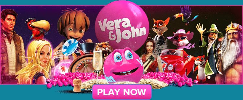 VeraJohn.com Casino [verajohn.com] 200% up to €100 free bonus
