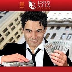 Lotus Asia Casino 40 gratis spins and $2300 free bonus codes