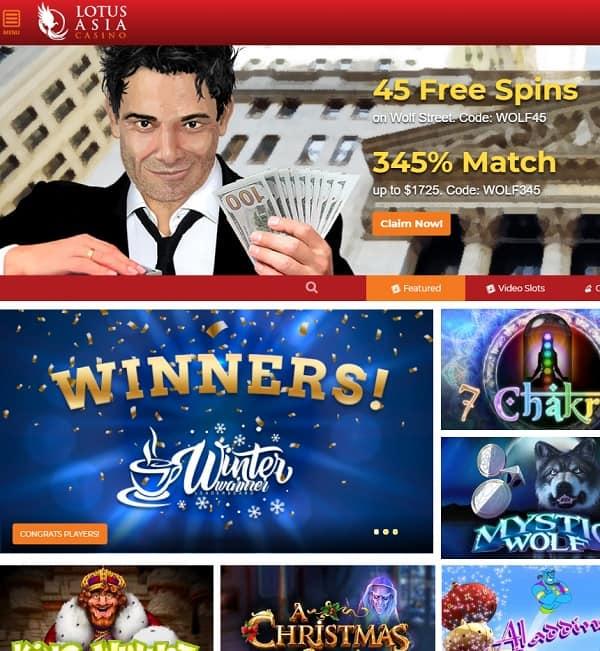 Lotus Asia Casino Review