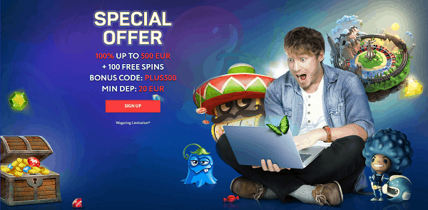 Special Offer: free cash and free spins