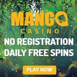 Mango Casino (BankID, Pay N Play) gratis spinn bonus för Sverige