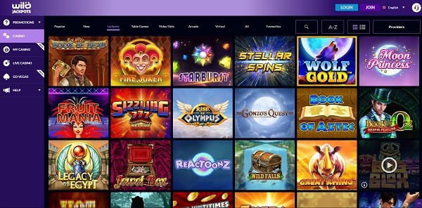 Wild Jackpots Casino Online Review
