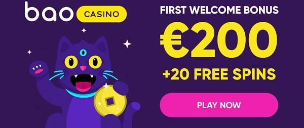 200 euro and 20 free spins bonus