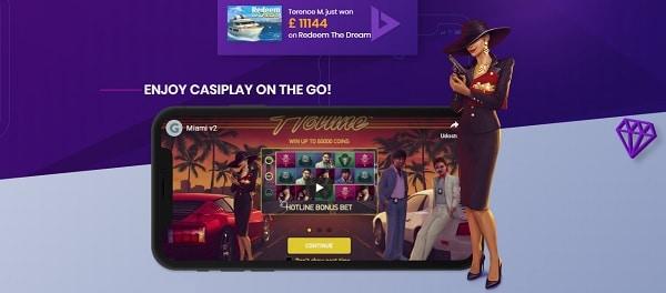 Casiplay.com Mobile Casino