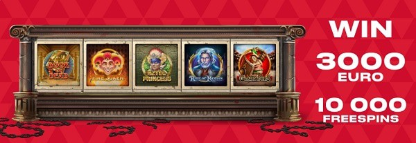 Free Spins every day!