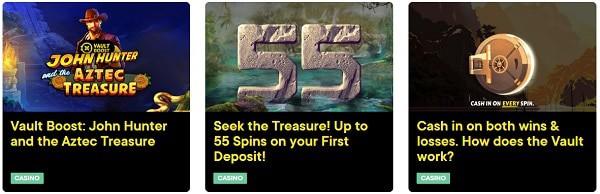 Fortune Legends Casino free bonuses