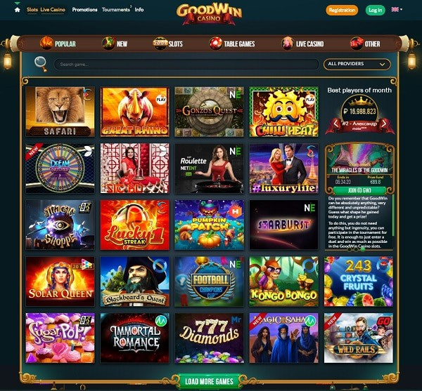 Casino Review, Rating and Support