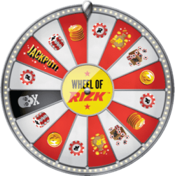 10 free spins on the Wheel of Rizk (no deposit required)