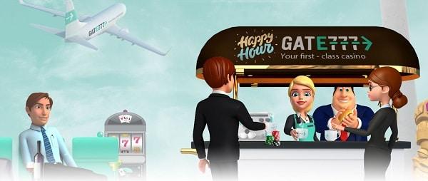 Gate777 happy hour