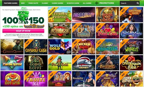Casino Luck Online and Mobile