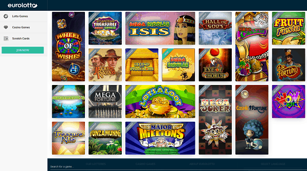 EuroLotto Free Spins