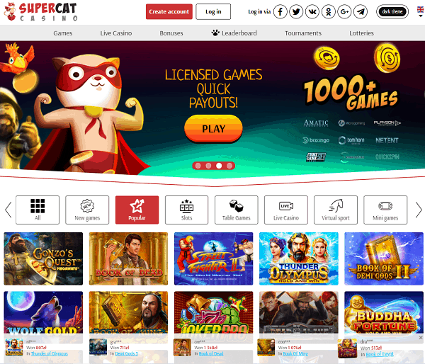 Join Slots and Live Dealer!