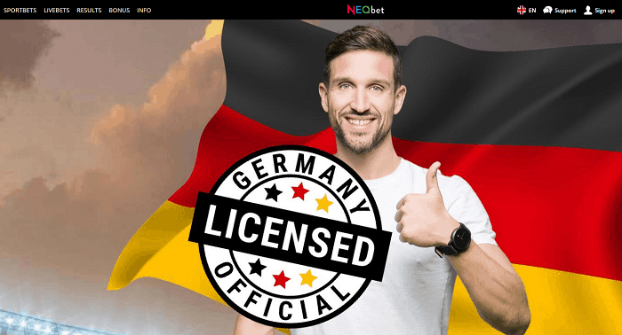Fully Licences Sportsbook in Germany