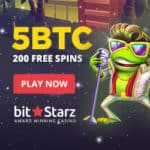 Bitstarz Casino (FIAT & crypto) 200 free spins and 5 btc bonus