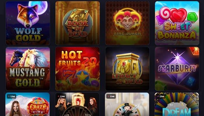 Praise Casino Online Games