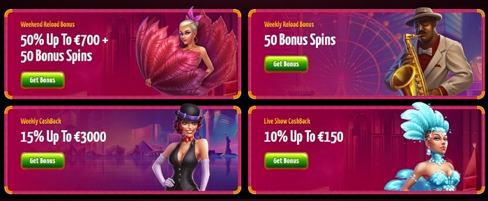Regular Promotions and Daily Rewards