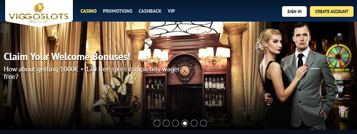 Viggo Casino Welcome Bonus