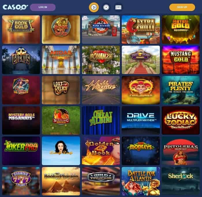 Create your account and play new slots