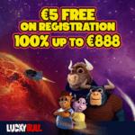 LuckyBull Casino [register & login] €5 free no deposit bonus