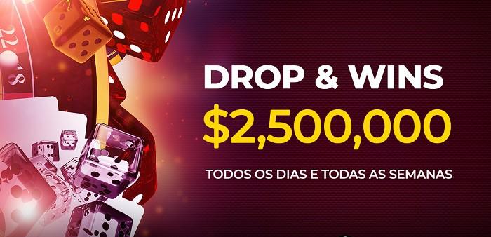 Drops & Wins $2,500,000 Prizes